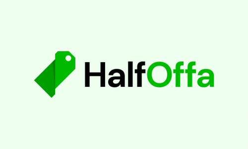 Halfoffa - Retail domain name for sale