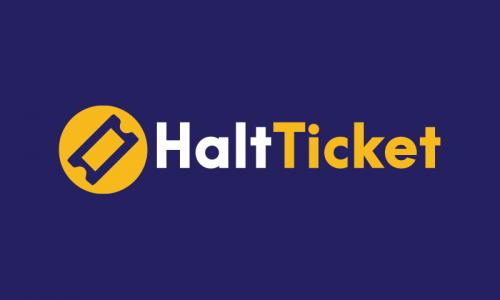Haltticket - Law domain name for sale