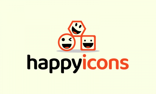 Happyicons - E-commerce business name for sale