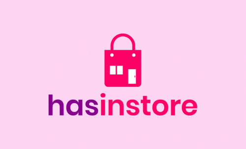 Hasinstore - E-commerce domain name for sale