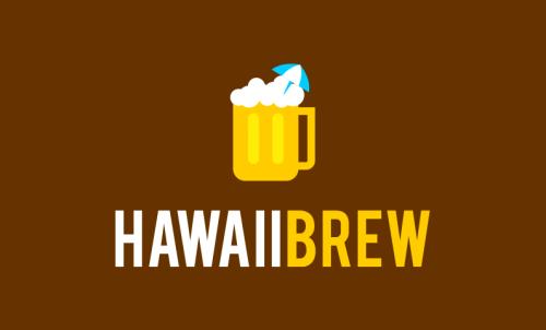 Hawaiibrew - Drinks company name for sale