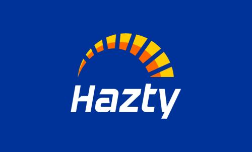 Hazty - Modern brand name for sale