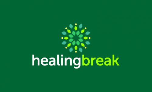 Healingbreak - Wellness startup name for sale