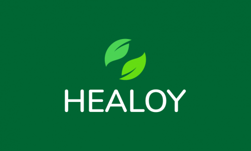 Healoy - Wellness company name for sale