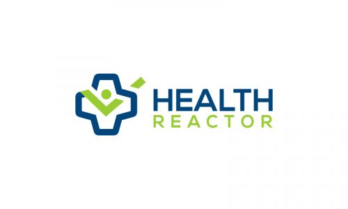 Healthreactor - Wellness domain name for sale