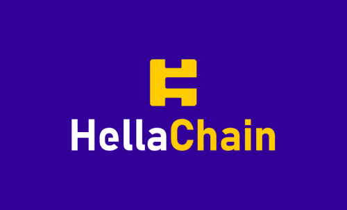 Hellachain - Cryptocurrency brand name for sale