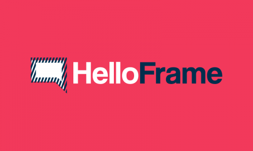 Helloframe - Friendly domain name for sale