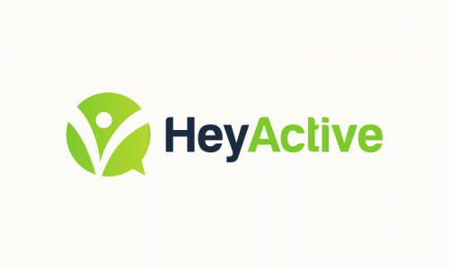 Heyactive - Potential business name for sale