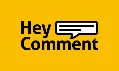 Heycomment - E-commerce startup name for sale