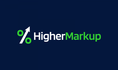 Highermarkup - Retail startup name for sale