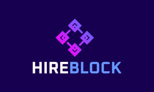 Hireblock - Recruitment business name for sale