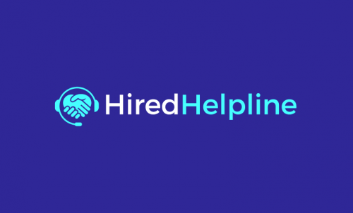 Hiredhelpline - Recruitment company name for sale