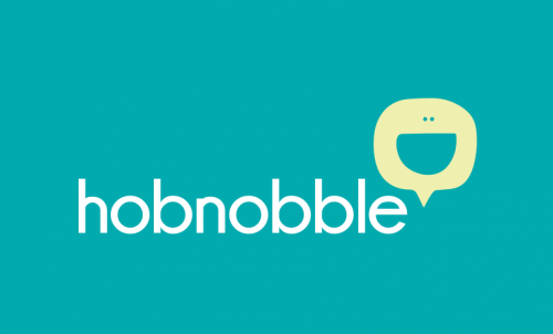 Hobnobble - Fun and distinctive social brand name