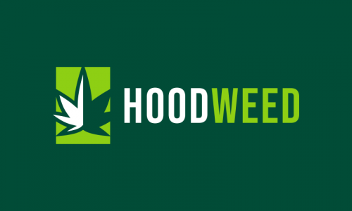 Hoodweed - Cannabis startup name for sale