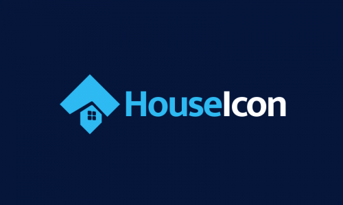 Houseicon - Real estate business name for sale