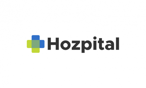 Hozpital - Fitness company name for sale