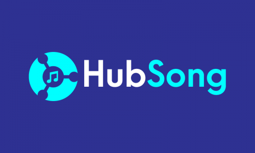 Hubsong - Music business name for sale