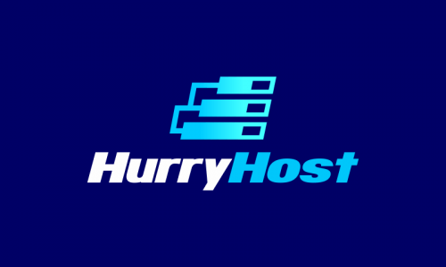 Hurryhost - Modern company name for sale