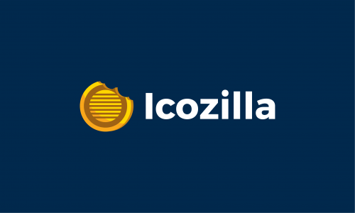 Icozilla - Cryptocurrency company name for sale