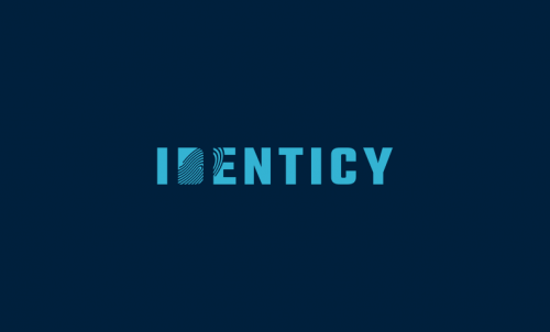 Identicy - Modern domain name for sale