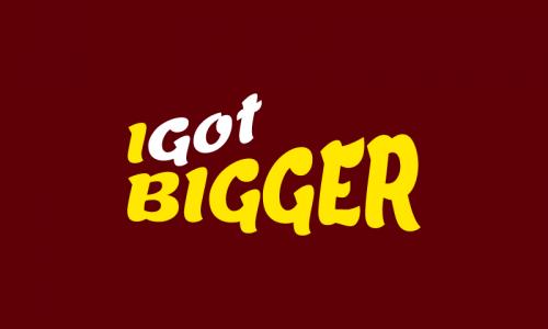 Igotbigger - E-commerce domain name for sale
