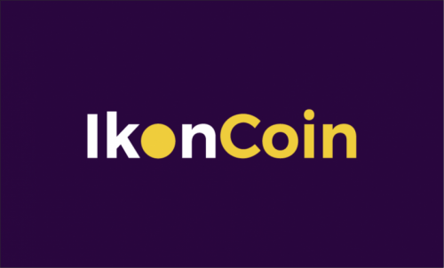 Ikoncoin - Cryptocurrency domain name for sale