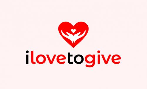 Ilovetogive - Technology company name for sale