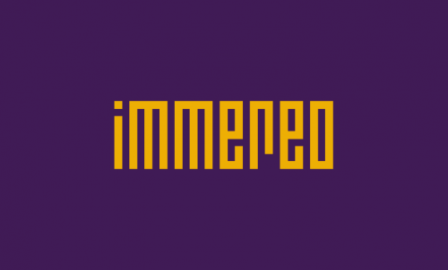 Immereo - Invented business name for sale