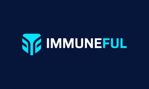 Immuneful - Healthcare startup name for sale