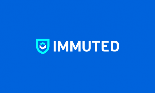 Immuted - Cryptocurrency domain name for sale