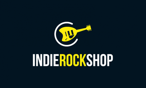 Indierockshop - Music brand name for sale