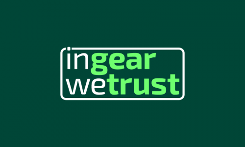 Ingearwetrust - E-commerce domain name for sale