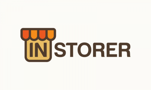 Instorer - Retail startup name for sale