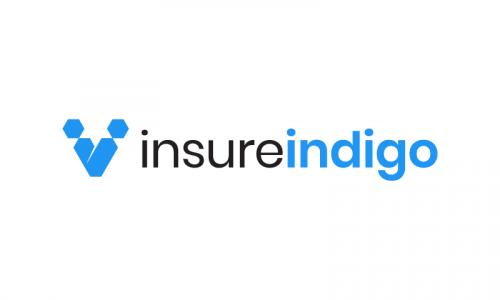 Insureindigo - Insurance startup name for sale