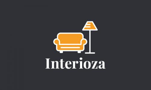 Interioza - Interior design domain name for sale