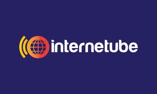 Internetube - Modern company name for sale