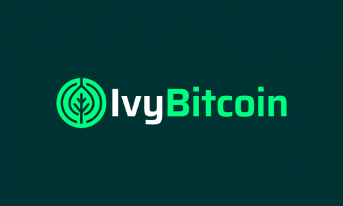 Ivybitcoin - Cryptocurrency company name for sale