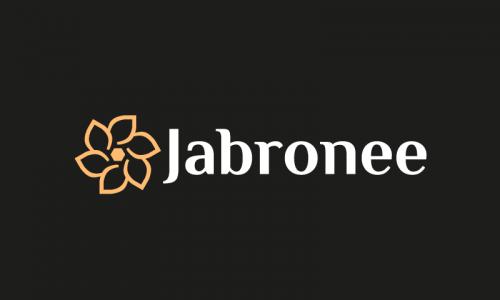 Jabronee - E-commerce company name for sale
