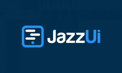 Jazzui - Artificial Intelligence company name for sale
