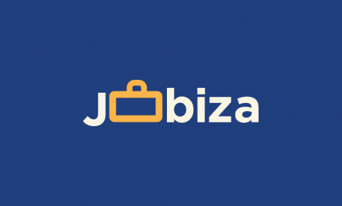 Jobiza - Remote working brand name for sale