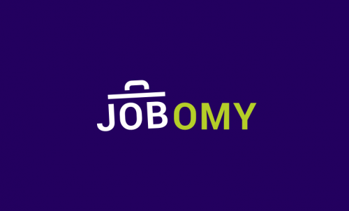 Jobomy - Recruitment startup name for sale