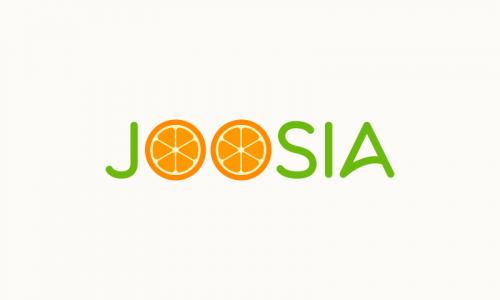 Joosia - Retail domain name for sale
