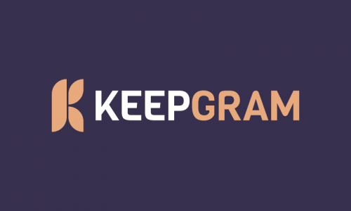 Keepgram - Finance brand name for sale