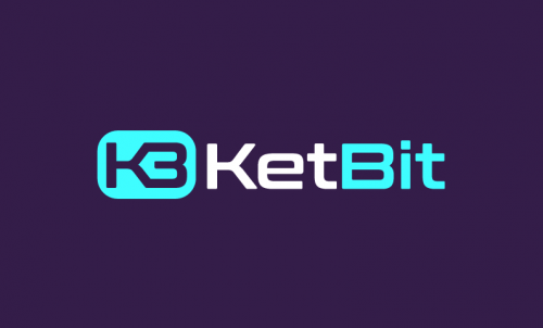 Ketbit - Contemporary startup name for sale