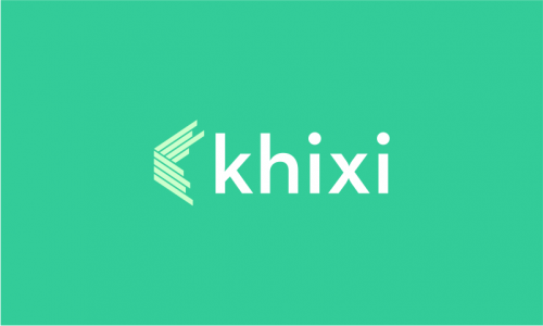 Khixi - Contemporary startup name for sale