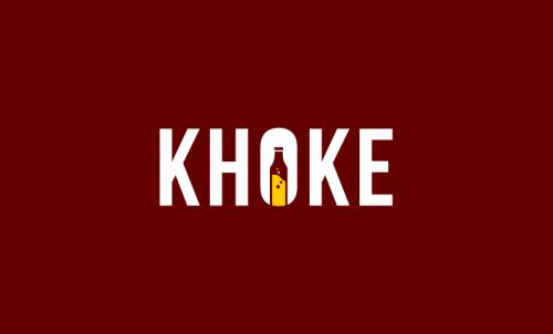 Khoke - Alcohol domain name for sale