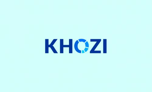 Khozi - Professional business name for sale
