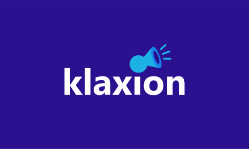 Klaxion - E-commerce company name for sale