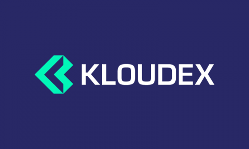 Kloudex - Playful product name for sale