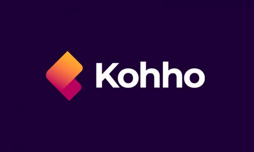Kohho - Possible company name for sale